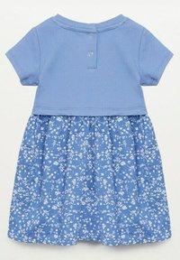Mango - Day dress - bleu - 1