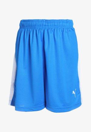 LIGA - kurze Sporthose - electric blue lemonade/white