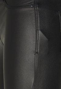 Dorothy Perkins Petite - COATED FRANKIE - Jeans Skinny Fit - black - 2