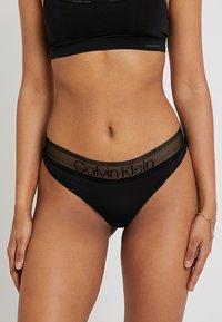Calvin Klein Underwear - BRAZILIAN - Perizoma - black - 0