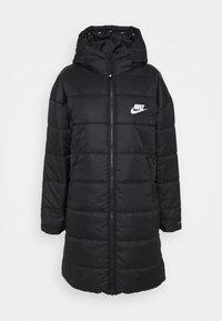 CLASSIC - Winter coat - black/white