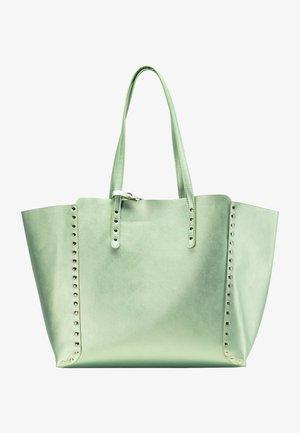 Shopper - grün metallic