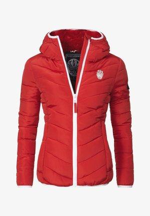 ELVA - Winterjacke - red