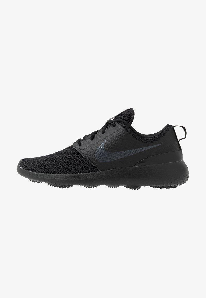 Nike Performance - ROSHE G - Golfskor - black/anthracite