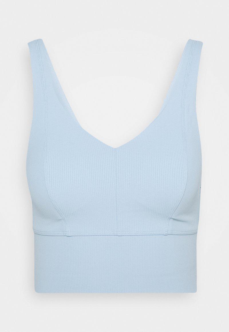 Cotton On Body - V NECK VESTLETTE - Sujetador deportivo - baby blue