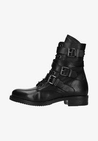 Manfield - Cowboy/biker ankle boot - black - 0