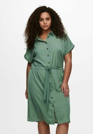 CARDIEGA DRESS - Shirt dress - laurel wreath