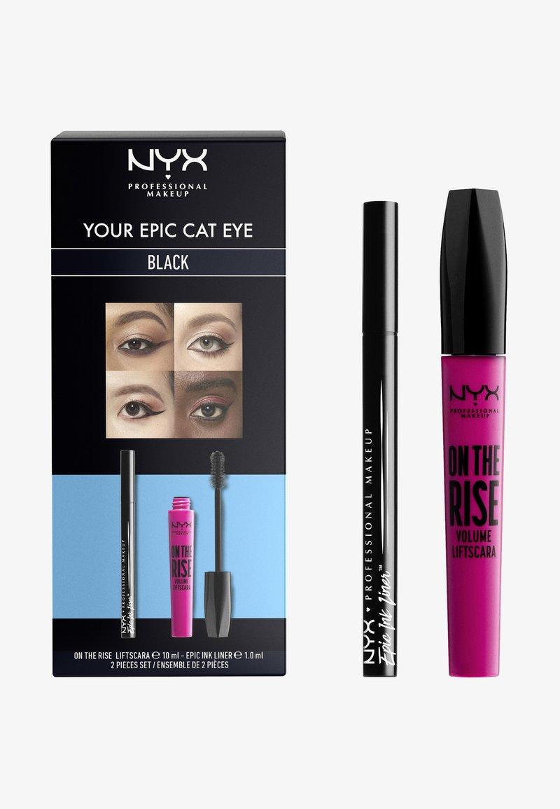 Nyx Professional Makeup - EPIC CAT EYE SET - Makeup set - -