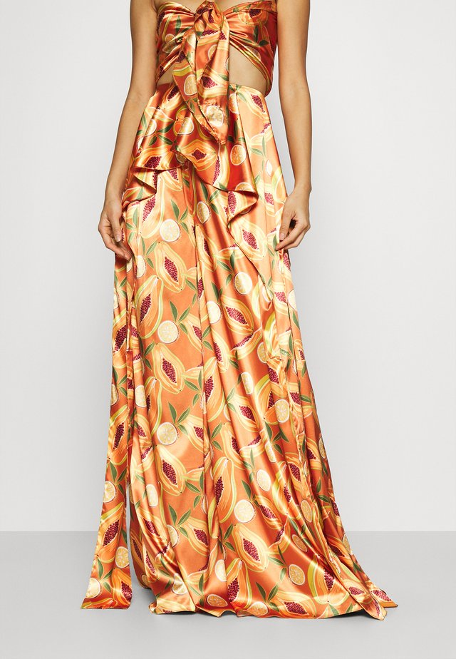 RYA PRINT PANTS - Strand accessories - orange