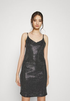 VMCINDI SINGLET SHORT DRESS - Cocktail dress / Party dress - black