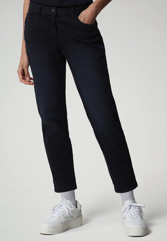 MULLEY - Jeans baggy - blu marine