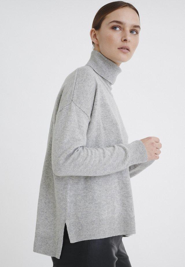Jersey de punto - new light grey melange