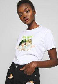 Fiorucci - ANGELS LASER - Print T-shirt - white - 3