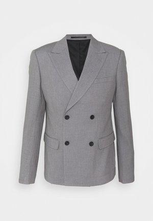 CROPPED - Blazer jacket - grey melange