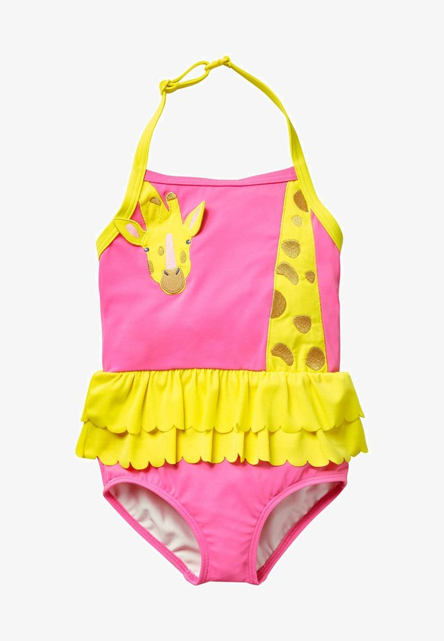 MIT APPLIKATION - Swimsuit - pink