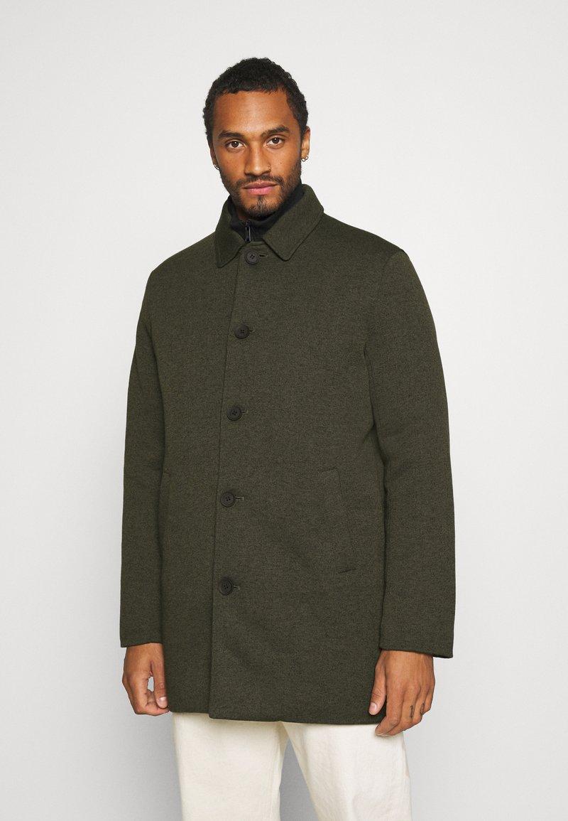 Only & Sons - ONSJANUS FUNCTIONAL KING COAT  - Classic coat - deep depths