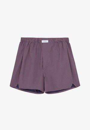 Shorts - blau rot/rose