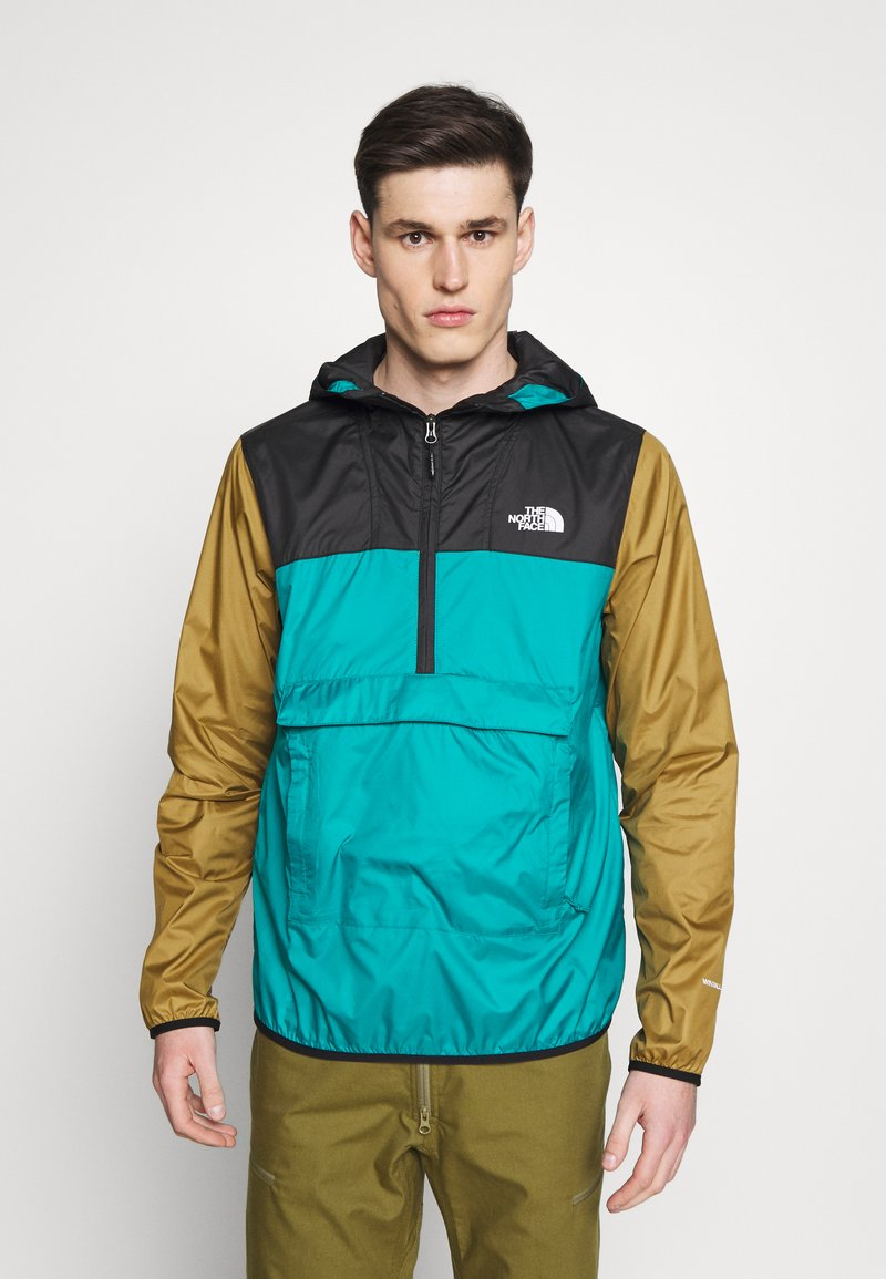 The North Face - MENS FANORAK - Veste coupe-vent - teal/black/khaki