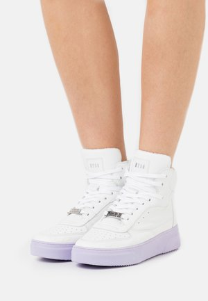 DANOI - Sneakers high - white/lila