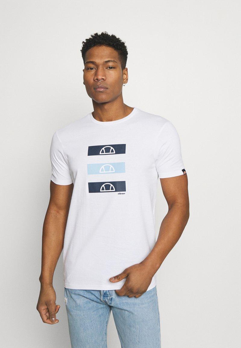 Ellesse - JACE - Print T-shirt - white