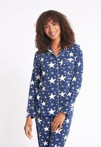 Chelsea Peers - NYC SPARKLE - Pyjama set - blue - 3