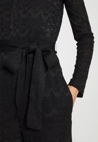 M Missoni - LONG OVERALLS - Jumpsuit - black - 7