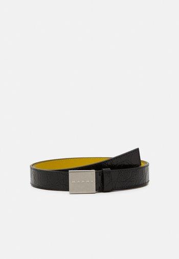 Belt - black/citron