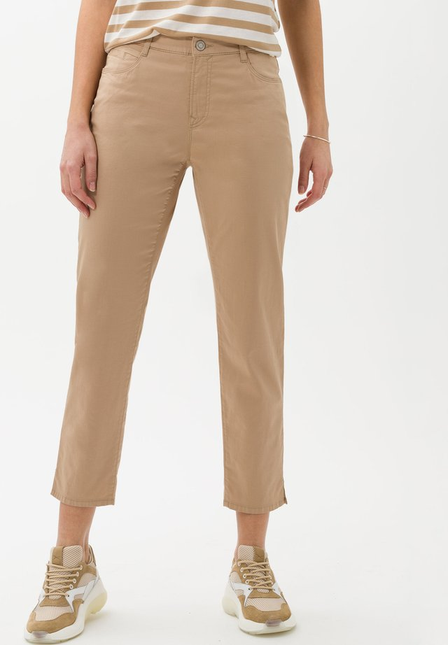Jeans a sigaretta - brown