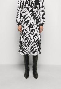 Diane von Furstenberg - MAE - A-line skirt - mantras ivory - 0