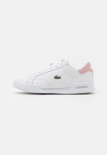 TWIN SERVE - Trainers - white/light pink