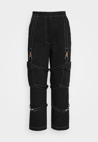 The Ragged Priest - PANT WITH TRIGGERS - Pantaloni - black - 4