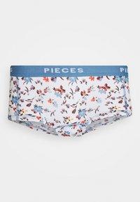 Pieces - PCLOGO HIGH SUMMER 3 PACK - Briefs - lichen blue - 1