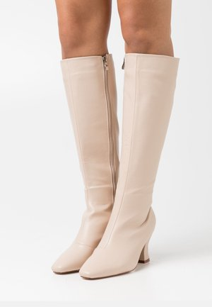 WIDE FIT JACEY - Boots - nude