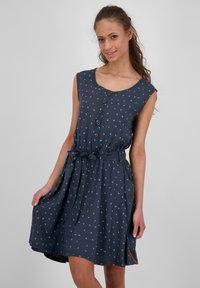 alife & kickin - Day dress - marine - 0