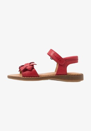 LORE FLOWERS MEDIUM FIT - Sandalen - red