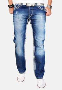 Alessandro Salvarini - Straight leg jeans - blau - 0