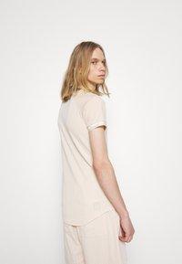 Sixth June - STRIPES SPORT TEE - Print T-shirt - beige - 2