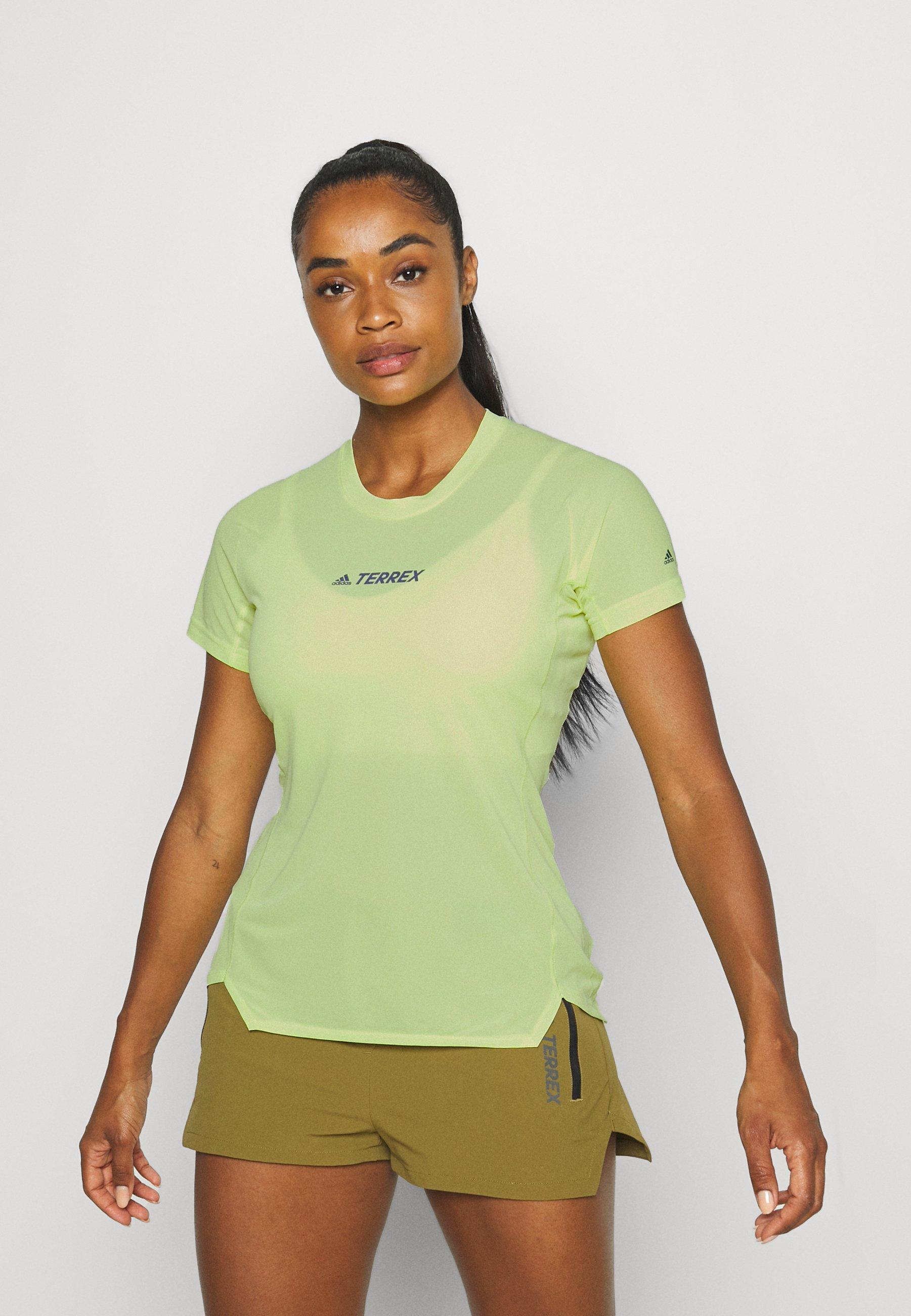 Women TERREX PARLEY AGRAVIC ALLAROUND - Print T-shirt
