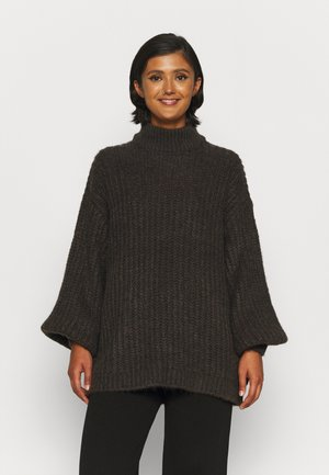 OVERSIZED SWEATER - Jumper - brown