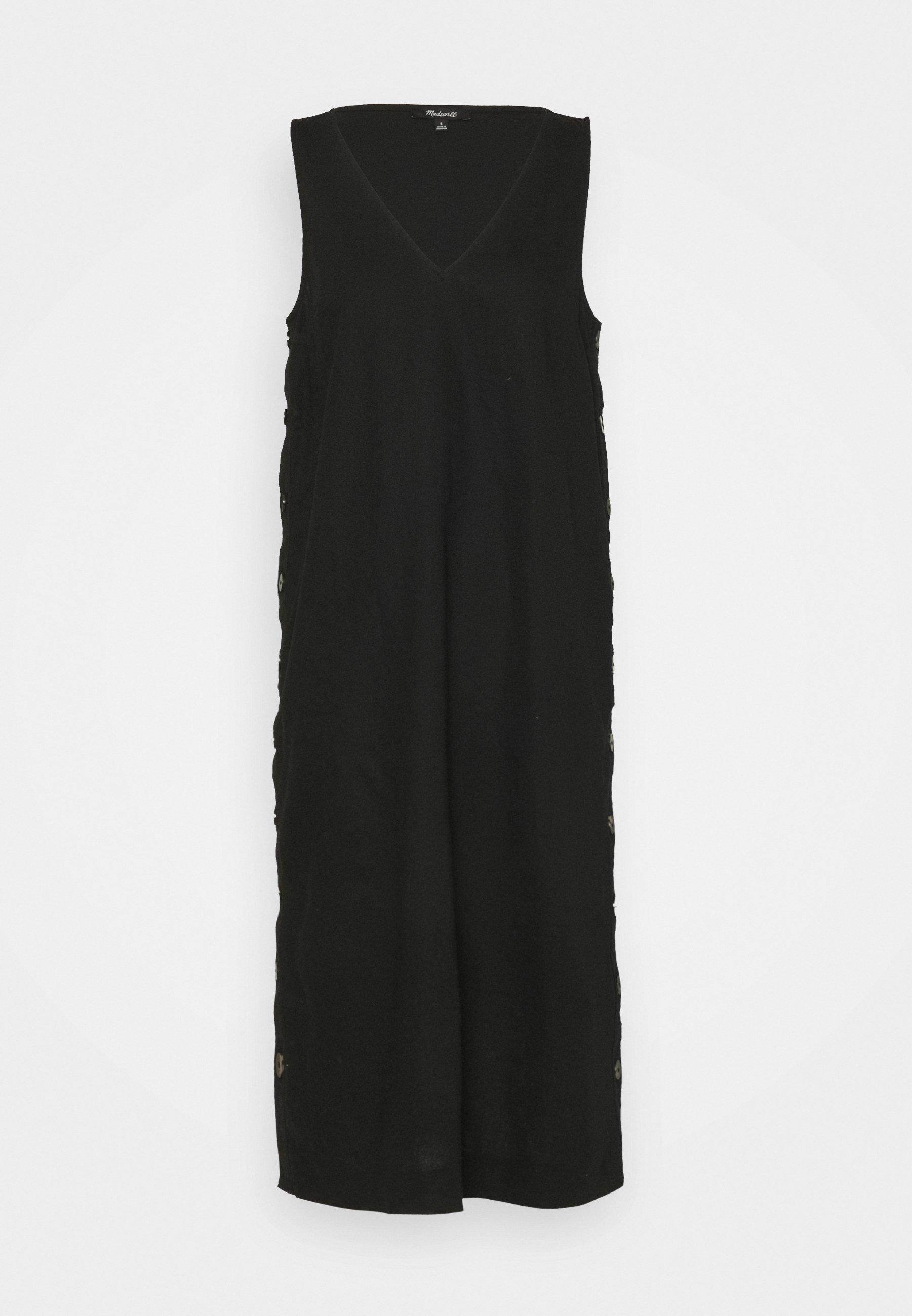 Women SHEATH MIDI SIDE BUTTON - Maxi dress
