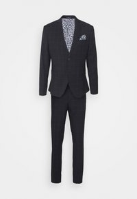 Isaac Dewhirst - WINDOWPANE SUIT - Suit - blue - 11