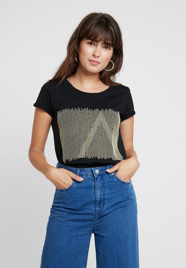 ALMA TEE - T-shirt con stampa - black