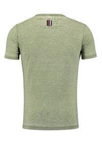 Key Largo - MT DIETER - Print T-shirt - green - 3