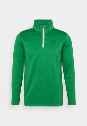 FIRST MILE FLASH ZIP - Collegepaita - amazon green heather