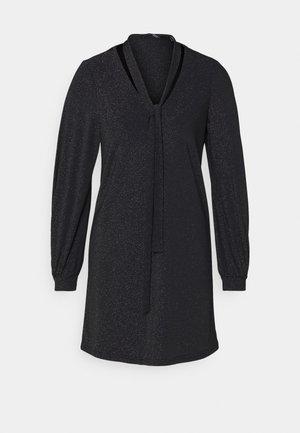 VMJELINA  - Day dress - black/silver lurex