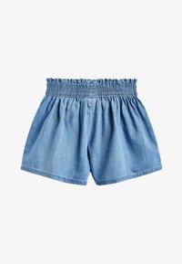 "Next - MID BLUE TENCELÂ""¢ SKORT (3-16YRS) - Denim shorts - blue - 1"