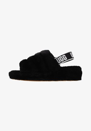 FLUFF YEAH - Slippers - black