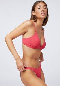 OYSHO - WITH STRAP DETAIL  - Bikini bottoms - coral - 4