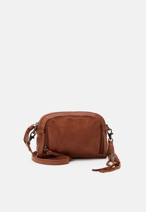CATANIA - Across body bag - cognac