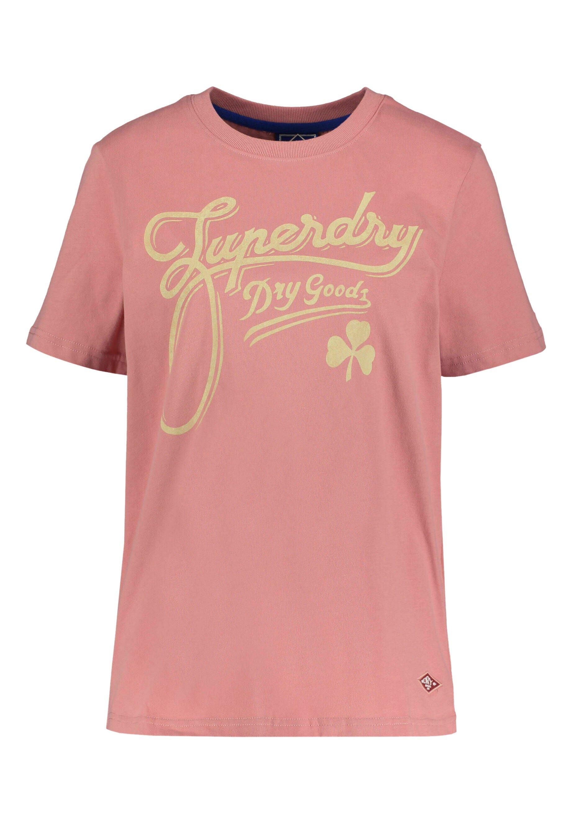 Mujer Camiseta estampada - rose